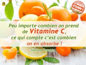 L'absorption de la vitamine C en 10 points essentiels