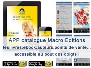 APP Catalogue Macro Editions - mise à jour !