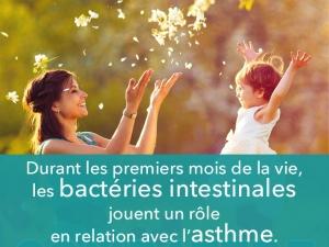 4 types de bactéries qui préviennent l'asthme