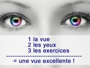 Comment retrouver une excellente vue ? faisons un peu d'exercice !