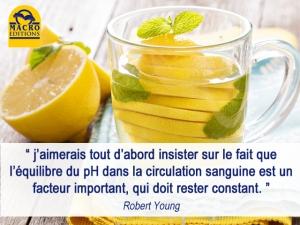 Interview du Dr. Young sur l'équilibre du PH dans l'alimentation.