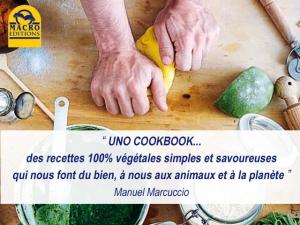 Manuel Marcuccio et ses recettes traditionnelles 100% véganes