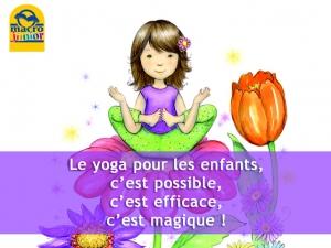 Le yoga pour les enfants, c'est possible !