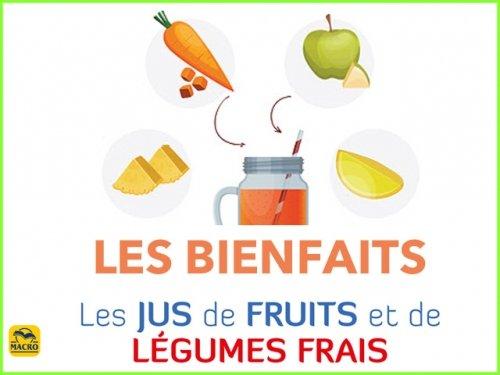 Les jus frais de fruits ou de légumes : le bienfaits des enzymes
