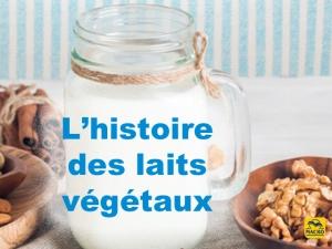 Histoire des laits végétaux