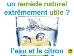 Comment utiliser l'eau et le citron pour sa santé ?
