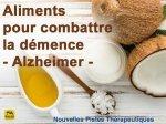 Aliments pour combattre la démence - Alzheimer