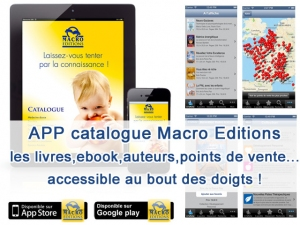 APP Catalogue Macro Editions - mise à jour !