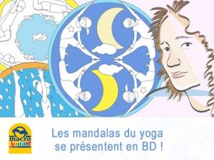 Les mandalas du Yoga – l'auteur Lucia Zacchi se raconte en bandes dessinées