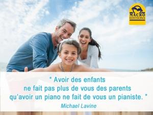 Être ou ne pas être des parents avec vos enfants ?
