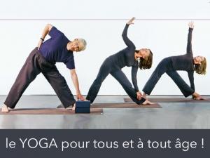 Avec le yoga il n'est jamais trop tard pour changer !