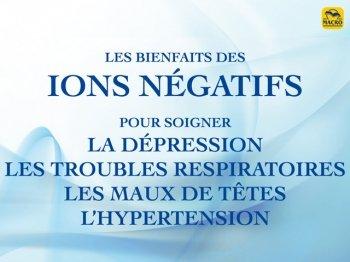 Comment fonctionnent les ions négatifs ? (livre)