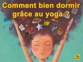 Comment bien dormir grâce au yoga (enfant) ?