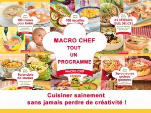 Macro Chef ou l'art de cuisiner naturellement