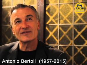 Macro Editions salut une dernière fois Antonio Bertoli