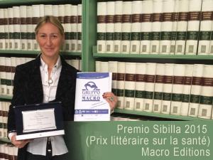 Premio Sibilla (prix littéraire sur la santé) pour la méthode Bates et son auteur Giorgio Ferrario