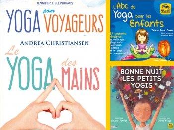 Yoga où l'on veut, avec les mains (mudras) et les enfants ! (4 livres)