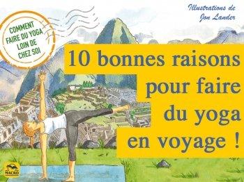 Pratiquer le yoga en voyage : quelle bonne idée !