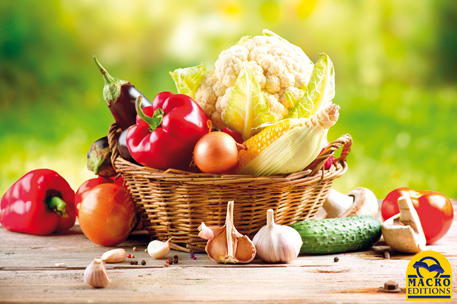 se nourrir de fruits et légumes frais