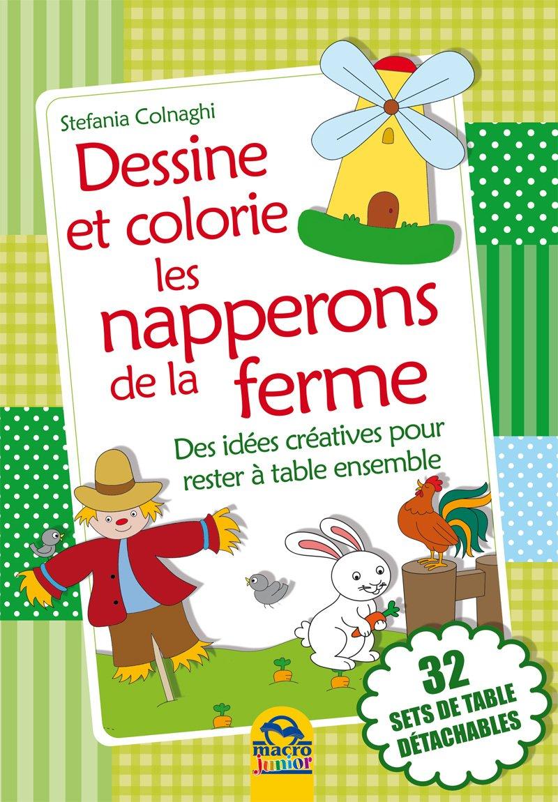Set de table à colorier - La ferme