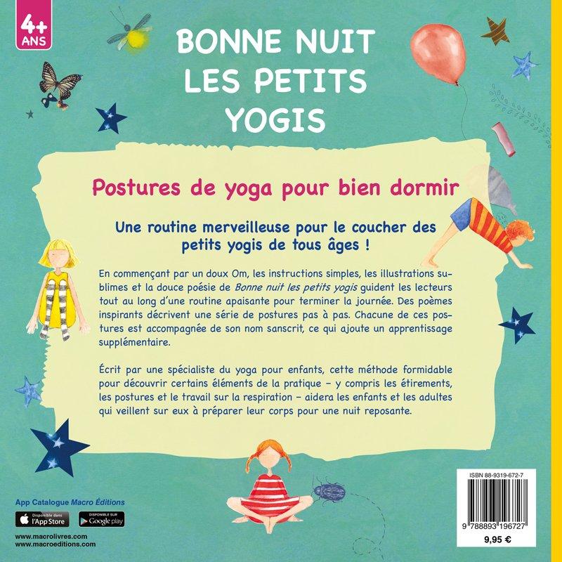 Bonne Nuit Les Petits Yogis Livre