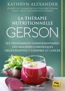 La thérapie nutritionnelle Gerson - Livre
