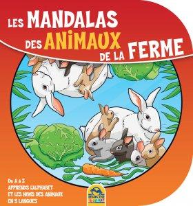 Les Mandalas des Animaux de la Ferme - Livre