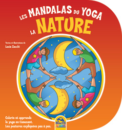 coloriage yoga enfant nature