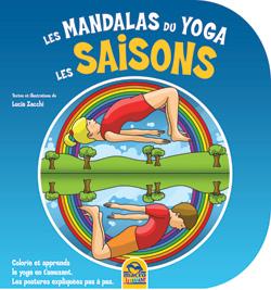 coloriage mandalas yoga enfant - les saisons