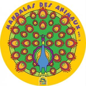 Mandalas ronds grand format des animaux 3 cahier de coloriage - Grand mandala ...