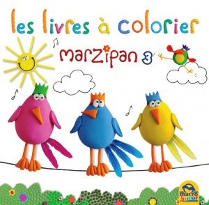 Coloriages Marzipan n°3 - Livre