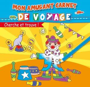 Mon Amusant Carnet de Voyage - Cherche et Trouve - Livre