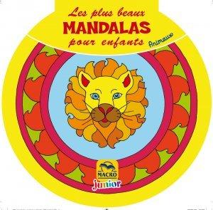 Les plus beaux Mandalas pour les enfants : les Animaux - Livre