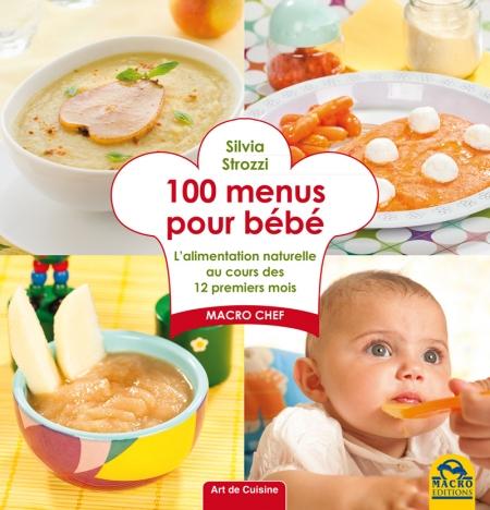 100 menus pour bébé - Livre