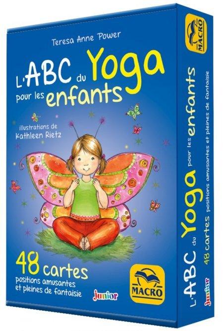 48 cartes de l'ABC du Yoga pour les Enfants - Cartes