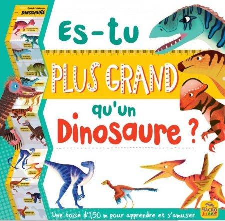 Es-tu plus grand qu'un dinosaure ? - papeterie