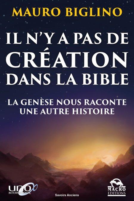 Il n'y a pas de création dans la Bible - Livre