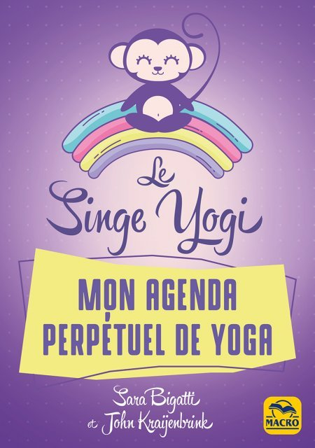 Le singe yogi - Livre