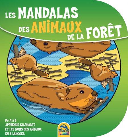 Les Mandalas des Animaux de la Foret - Livre