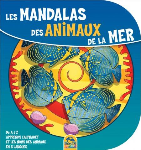 Les Mandalas des Animaux de la Mer - Livre
