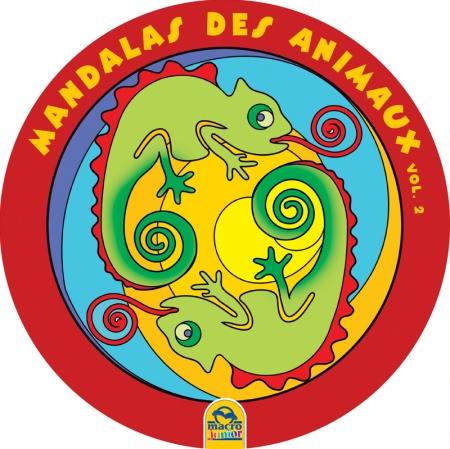 Mandalas Ronds Grand Format des Animaux Vol. 2 - Livre