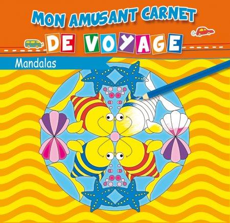 Mon Amusant Carnet de Voyage - Mandalas - Livre