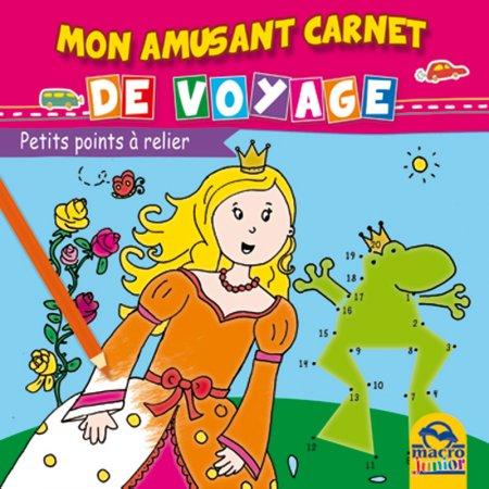 Mon Amusant Carnet de Voyage - Petits Points à Relier - Livre