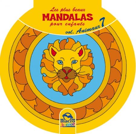 Les plus beaux Mandalas pour les enfants - serie n°2 - Animaux - Livre