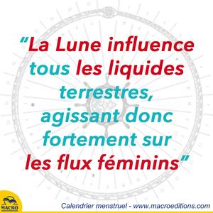 influence de la lune sur le cycle féminin
