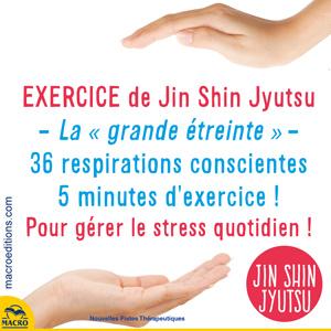 exercice pour le stress quotidien - jin shin jyutsu