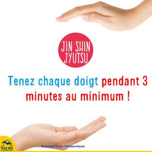 jin shin jyutsu - durée de la position des doigts