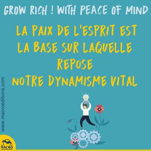 paix de l'esprit et dynamisme vital