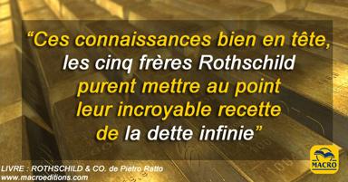 La recette de la dette infinie des frères Rothschild