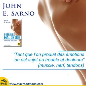 emotions liées à la douleur du corps